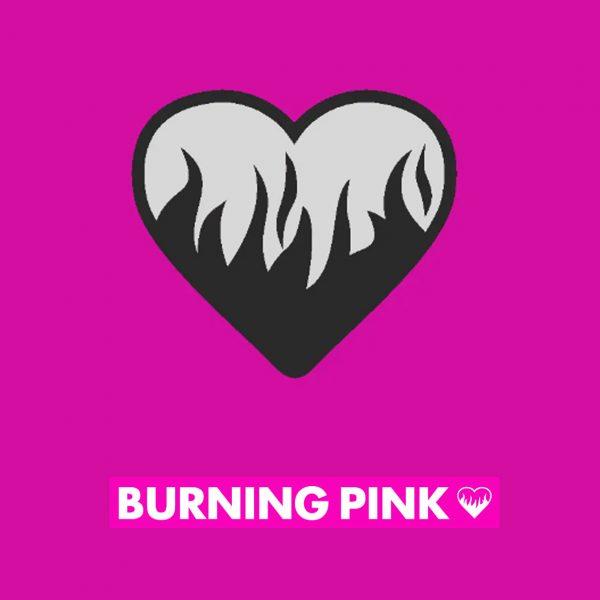 Burning Pink Tile