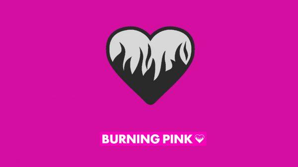 Burning pink